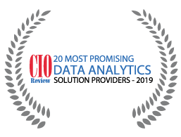 WinWire has been listed as '20 Most Promising Data Analytics Solution providers 2019' by CIOReview.